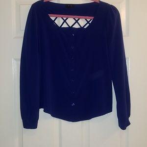 Tops - Blue M blouse